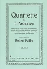 Robert Müller - Quartette Volume 3 - Partition - di-arezzo.fr