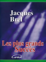 Les plus grands succès Jacques Brel Partition laflutedepan.com