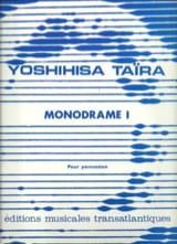 Monodrame I Yoshihisa Taïra Partition laflutedepan.com
