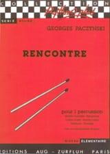 Georges Paczynski - Rencontre - Partition - di-arezzo.fr