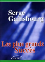 Serge Gainsbourg - Les plus grands succès - Partition - di-arezzo.fr