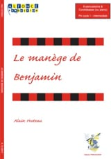 Le Manège de Benjamin Alain Huteau Partition laflutedepan.com