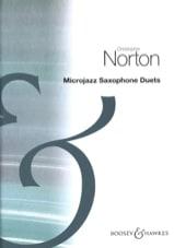 MicroJazz Saxophone Duets Christopher Norton laflutedepan.com