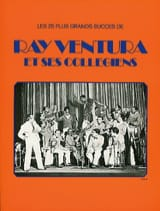 Ray Ventura et ses collégiens Ray Ventura Partition laflutedepan.com