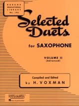 Selected Duets Volume 2 - Voxman - Partition - laflutedepan.com