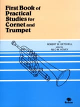 Getchell Robert W. / Hovey Nilo W. - First Book of Practical Studies For Cornet and Trumpet - Partition - di-arezzo.fr