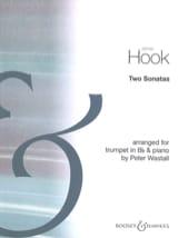 Two Sonatas James Hook Partition Trompette - laflutedepan.com