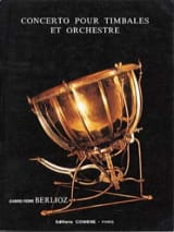 Gabriel-Pierre Berlioz - Concerto Pour Timbales Et Orchestre - Partition - di-arezzo.fr