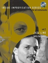 Volume 3 - Jazz Line Jerry Bergonzi Partition laflutedepan.com