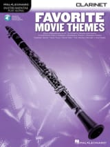 Favorite Movie Themes Partition Clarinette - laflutedepan.com