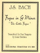 Johann Sebastian Bach - Fugue in G Minor - Partition - di-arezzo.fr