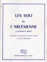Les Soli de L'Arlésienne BIZET Partition Saxophone - laflutedepan.com