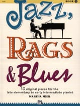 Jazz, Rags & Blues Volume 1 Martha Mier Partition Jazz - laflutedepan