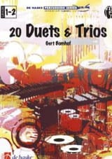 Gert Bomhof - 20 Duets & Trios - Partition - di-arezzo.fr