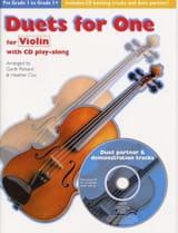 Duets For One Partition Violon - laflutedepan.com