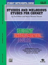 Weber F. / Vincent M.H. - Studies - melodious etudes for cornet volume 1 - Sheet Music - di-arezzo.com