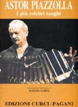 Astor Piazzolla - 私はPiu Celebri Tanghi。ピアノ - 楽譜 - di-arezzo.jp