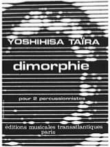 Dimorphie Yoshihisa Taïra Partition laflutedepan