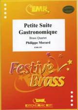 Petite Suite Gastronomique Philippe Morard Partition laflutedepan.com