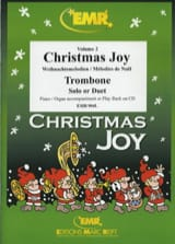 Christmas joy volume 2 Noël Partition Trombone - laflutedepan.com