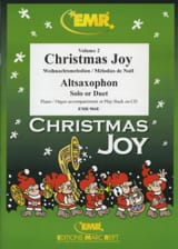 Christmas Joy Volume 2 Noël Partition Saxophone - laflutedepan