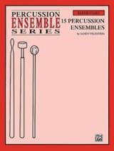 15 Percussion Ensembles Sandy Feldstein Partition laflutedepan.com