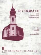 20 Choräle Berthold Hummel Partition Trombone - laflutedepan.com