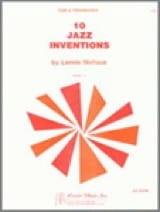 Lennie Niehaus - 10 Jazz Inventions - Sheet Music - di-arezzo.com