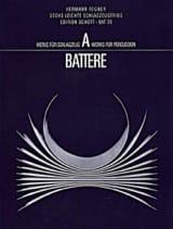 Hermann Regner - Sechs Leichte Schlagzeugtrios - Partition - di-arezzo.fr
