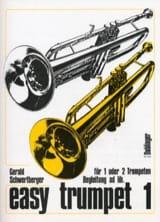 Easy Trumpet Volume 1 Gerald Schwertberger Partition laflutedepan