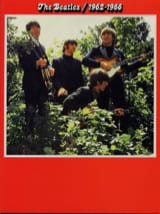 The Beatles Rouge 1962-1966 BEATLES Partition laflutedepan.com