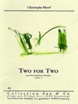Two For Two - Christophe Havel - Partition - laflutedepan.com