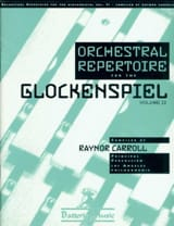 - Orchestral Repertoire For The Glockenspiel Volume 2 - Partition - di-arezzo.fr