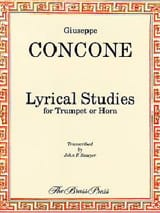 Lyrical Studies - Giuseppe Concone - Partition - laflutedepan.com