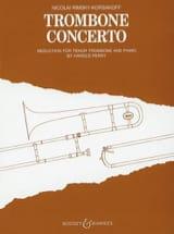 Nicolai Rimsky Korsakov - Trombone Concerto - Partition - di-arezzo.fr