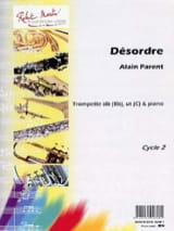 Alain Parent - Désordre - Partition - di-arezzo.fr