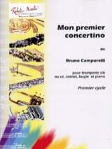 Bruno Camporelli - Mon Premier Concertino - Partition - di-arezzo.fr