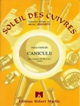 Canicule - Jérôme Naulais - Partition - Trompette - laflutedepan.com