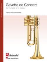 Gavotte de Concert Heinrich Sutermeister Partition laflutedepan.com