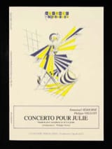 Emmanuel Séjourné et Philippe Velluet - ジュリーのための協奏曲 - 楽譜 - di-arezzo.jp