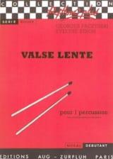 Valse Lente Paczynski Georges / Stroh Evelyne laflutedepan.com