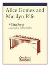 Mbira Song - Amice Gomez & Marilyn Rife - Partition - laflutedepan.com