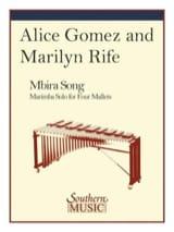 Mbira Song Amice Gomez & Marilyn Rife Partition laflutedepan.com