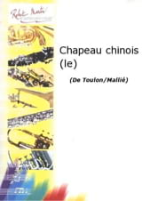 Le Chapeau Chinois - 5 Positions Jacques Toulon Partition laflutedepan