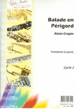 Alain Crepin - Walk in Périgord - Sheet Music - di-arezzo.com