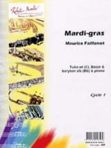 Maurice Faillenot - Mardi-Gras - Partition - di-arezzo.fr