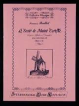 François Poullot - Le Secret de Maître Cornille - Partition - di-arezzo.fr