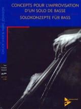 Concepts Pour L' Improvisation D' Un Solo de Basse avec 2 CDs laflutedepan.com