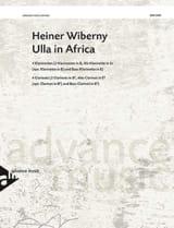 Heiner Wiberny - Ulla In Africa - Partition - di-arezzo.fr