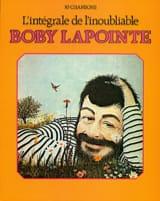 L'intégrale de l'inoubliable Boby Lapointe Partition laflutedepan.com